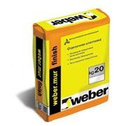 Вебер. мюр финиш (Weber.mur finish) 20kg фото