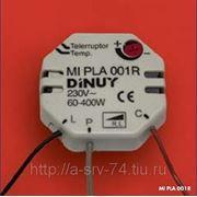 MI PLA 001R. Электронный лестничный выключатель, макс. нагрузка до 400 Вт, монтаж за выключатель. фото