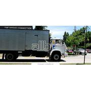 Перевозка частичных грузов наземным транспортом фото