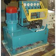 Стенд для испытания гидроаппаратуры мод. Г605. (М) фото