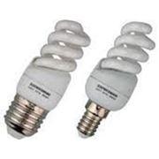 Лампа энергосберегающая 11Вт E14 фото