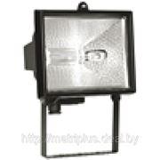 Прожектор ИО500 галогенный черный IP54 фото