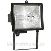 Прожектор ИО1500 галогенный черный IP54 фото