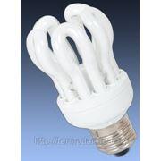Энергосберегающая люминисцентная лампа LOTUS 5U 18W E27 2700K фото