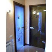 Двери стеклянные межкомнатные фотография