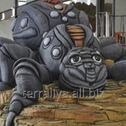 Скульптура из бетона Паук фото