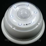 Светодиодная лампа с датчиком движения. No1. фото
