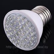 Светодиодная лампа E27 3W 38 LED энергосберегающая. фото