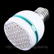 Светодиодная лампа E27 2W 37 LED. фото