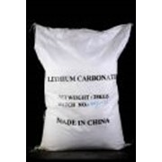 Карбонат лития фото