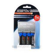 Зарядное устройство robiton Smart S500 + 4AA 2500 BL1. фото