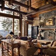 Мебель из натурального дерева стиль Кантри фото