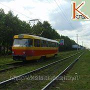 Деревянная пропитанная трамвайная шпала широкой колеи ГОСТ 78 — 89.