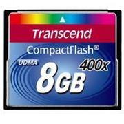 Флеш карта Compact Flash (CF) 8Gb Transcend 400x (TS8GCF400) фото