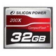 Флеш карта Compact Flash (CF) 32Gb Silicon Power 200x (SP032GBCFC200V10) фото