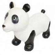Игрушка детская, в форме панды ПОПРЫГУНЧИК фото