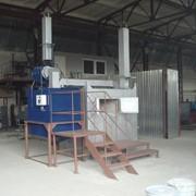 Мобильная установка для сжигания биологических отходов фото