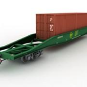 Платформа для перевозки крупнотоннажных контейнеров 13-9751-01 фото