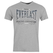 Футболка Everlast Classic T Shirt Mens M Core фото
