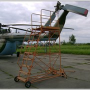 Стремянка авиационная СТУ-3000 фото