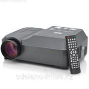 Проектор для домашнего кинотеатра Оцелот встроенный DVD-плеер, 200 люмен, 800x600 фото