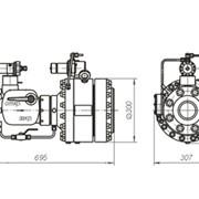 Регулятор магистральный РДМ 80/200-К04 с ЗУ и ЗИПом фото