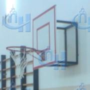 Щит баскетбольный тренировочный (фанера) фото