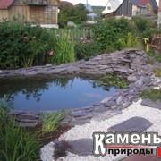 Ландшафтный дизайн с применением природного - натурального камня фото