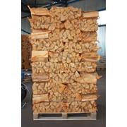 Дрова каминные березовые камерной сушки, мешок 15 кг/40л фото