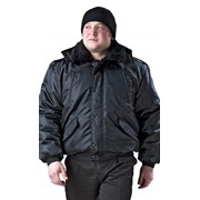 Куртка утеплённая - Норд, тк. Оксфорд чёрный фото