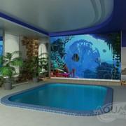 Фонтан для бассейна фото