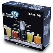 RAWMID Блендер RAWMID Dream mini BDM-08 (3 кувшина + спорт. стакан) (цвет черный) фото