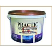 Акриловая краска Mattweiss PRACTIC Матовая белоснежная фото