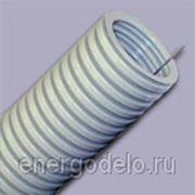 Гофрированная труба ПВХ с протяжкой D=32мм фото