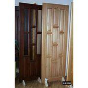 Двери филенчатые межкомнатные из массива сосны фото