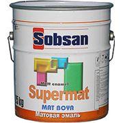 Матовая эмаль SUPERMAT фото