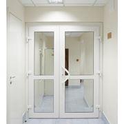 Дверь из ПВХ профиля фото