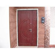 Двери входные двойные фото
