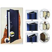 Металлические входные двери с коробкой на заказ фото