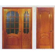 Двери шпонированные фотография