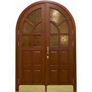 Двери арочные фото