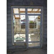 двери балконные ПВХ фото