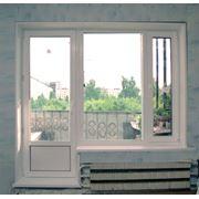 Двери металлопластиковые фото