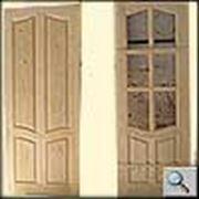 Блок дверной филенчатый фото