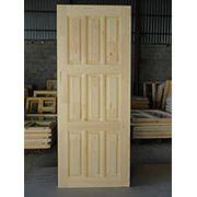 Дверные блоки массив хвоя филенчатые фото