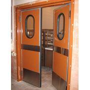 Маятниковые двери фото