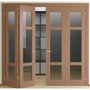 Складная дверь фото