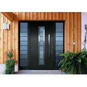 Двери входные алюминиевые Hormann фото