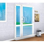 Входные пластиковые двери фото