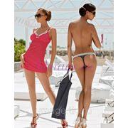 Платье пляжное для женщин + плавки фото